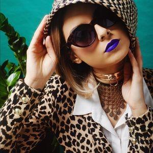 Juicy Couture Leopard Print Blazer